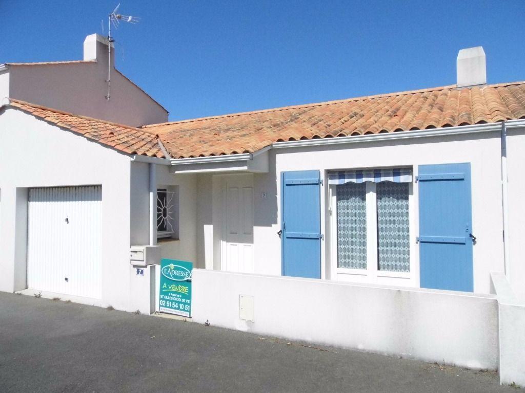 Immobilier saint gilles croix de vie a vendre vente for Acheter louer maison